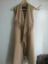 brown fringed vest Toronto