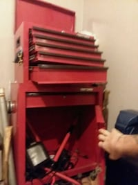 red and black tool cabinet Unionville, 37180