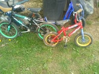 toddler's two blue and green bicycles Junction City, 43748