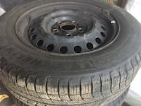 """15"""" winter tire with rims for honda civic Longueuil, J3Y 1T9"""