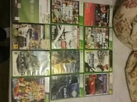 assorted Xbox 360 game cases 68 km