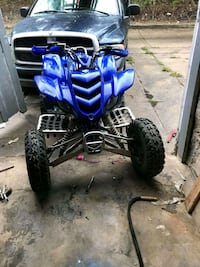 blue and black Yamaha ATV Baltimore, 21202