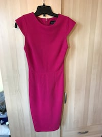 Top Shop fuschia dress xs pencil dress Mississauga, L5M 5E2