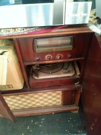 Antique Radio Record Player Waldorf, 20603