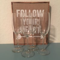 Champagne flutes and wine glasses Coconut Creek, 33073