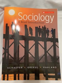 Sociology Sixth Canadian Edition Textbook Toronto, M3L 1N8