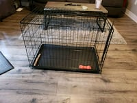 black metal folding dog crate Vaughan, L4L 2A1