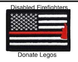 Disabled Firefighter/Legos