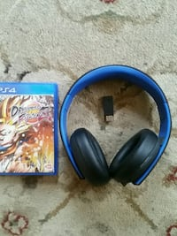 Ps4 headset and game Salem, 01970