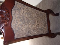 Beautiful tapestry wood chair PINELLASPARK