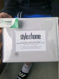 Style at Home Cotton/Tencel Lyocell Duvet Cover Se Burnaby, V5H 3J8