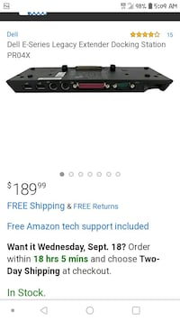 Dell Pro4X Docking Station Billings, 59101