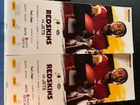 Redskins & Jets tickets this Sunday  Burtonsville, 20866