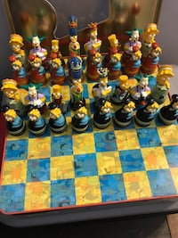 The Simpsons  Chess Set Germantown, 20874