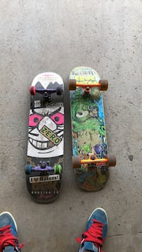 Two green and black skateboards Vaughan, L4H 1P9