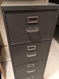 black metal 3-drawer filing cabinet Rockville