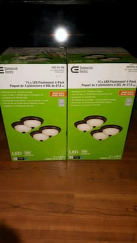 Commercial Electric 2 boxes 4 pack new  Toronto, M1X 1G9