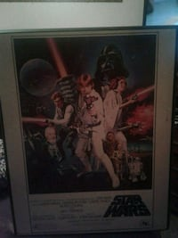 Star Wars wall picture