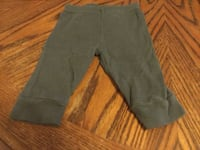 Boys grey pants with football Size 3-6 months  Tustin, 92780