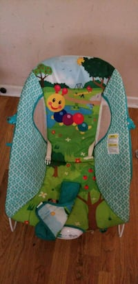 baby's green and blue bouncer Byron, 31008