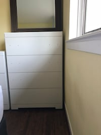 Tall dresser for sale - comes with gold drawer pulls Mississauga, L5J 3M9