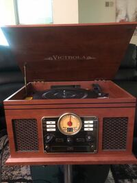 Victrola 6 in 1 Entertainment System Silver Spring, 20904