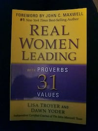 Real Women Leading with Proverbs 31 Values book Myersville, 21773