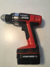 Black and Decker 12V Cordless Drill