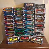 Assorted 1:43 die-cast model cars Oakville