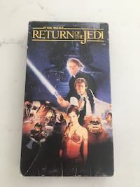 Star War Return of The Jedi VHS Whitby