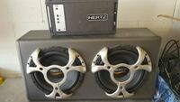 1000w RMT amp + 2-10in subs Mississauga, L4Y 3Z7