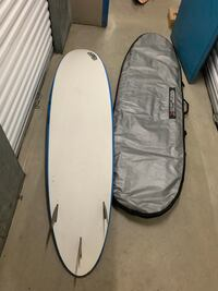 7'6 Great beginner soft up with board bag included hundred dollars firm Industry, 91746
