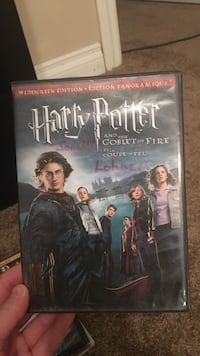 Harry Potter and the Goblet of Fire DVD case