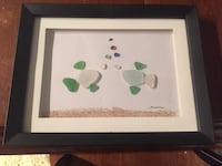 Original sea glass art Centre Wellington, N1M 2B3