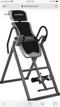 Innova ITX9600A Heavy Duty Inversion Table with Adjustable Headrest