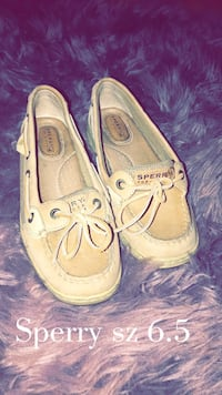 pair of brown Sperry boat shoes McAllen, 78501