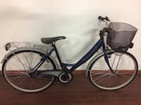 GLORIA: city ​​bike blu  6728 km