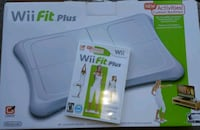 Wii fit board and video