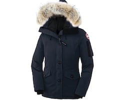 Women's Canada goose  Montebello parka in navy