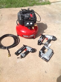 red and black pressure washer Houston, 77036