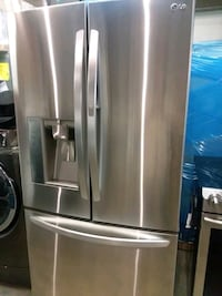 Lg stainless steel French doors excellent conditio Baltimore, 21223
