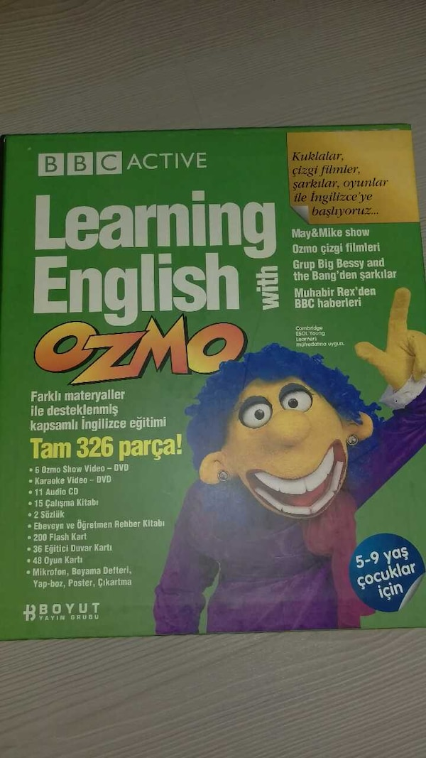 Used Bbc Active Learning English With Ozmo For Sale In Istanbul