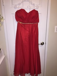 red spaghetti strap maxi dress Chevy Chase, 20815