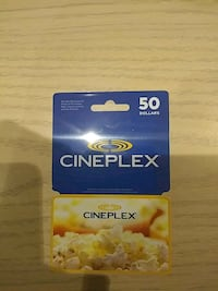 Cineplex Gift Card (i Scratch Off the Code unused Please Contact)