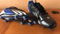 Black-blue-and-white adidas cleats Lincolnton, 28092