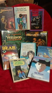 assorted book collection 382 mi