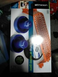 Emerson Tabletop air hockey game box West Valley City, 84119