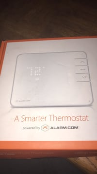 white Alarm.com thermostat box Waldorf, 20601