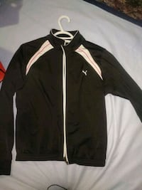 black and white zip-up jacket Penticton, V2A 8X1