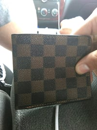 damier graphite Louis Vuitton leather bifold wallet Detroit, 48204